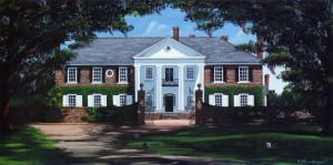 Boone Hall Plantation 34″x18″ Limited Edition Print – $90
