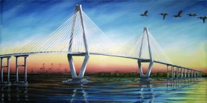 Cooper River Diamonds 34″x18″ Limited Edition Print – $120