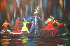 GeeChee Nation 22″x28″ Canvas Copy – $275