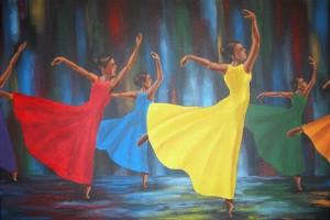 Gullah Rhythm 22″x28″ Canvas Copy – $275