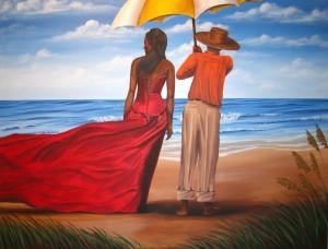 Island Solitude 22″x28″ Canvas Copy – $275