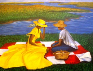 "Lowcountry Proposal 22""x28″ Canvas Copy – $275"