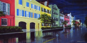 Rainy Nights34″x18″ Limited Edition Print – $90