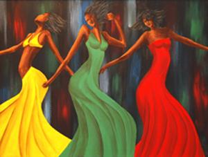 Soul Sistas 18″x24″ Canvas Copy – $220