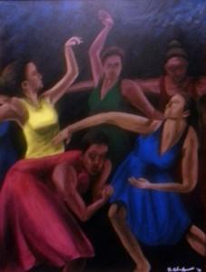 Village Soul 18″x24″ Canvas Copy – $220